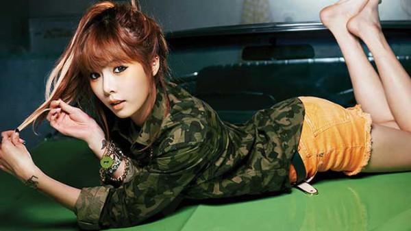 Hyuna Musikgruppen