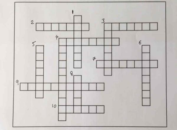Haben Sie Es Lösen Das Kreuzworträtsel Das Sich Rechnet