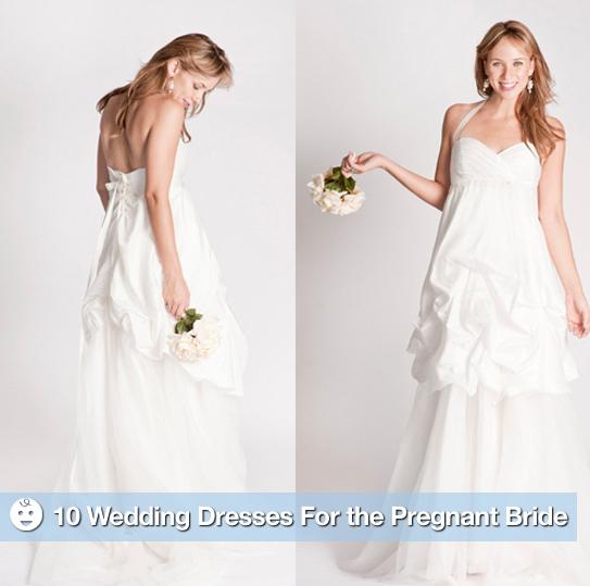 Die schwangere Braut: 10 schicke Mutterschaft Brautkleider