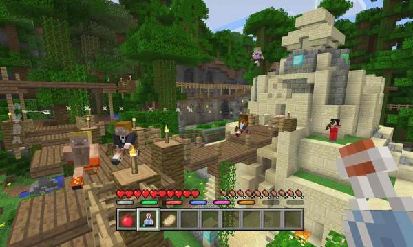 MinecraftMiniSpiele Xbox PlayStation Und Wii U Im Juni Kommen - Minecraft wii u spielen