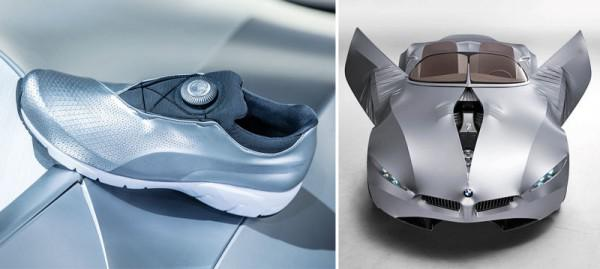 BMWs hässlichste Konzeptfahrzeug inspiriert hässlichste Sneakers von Puma