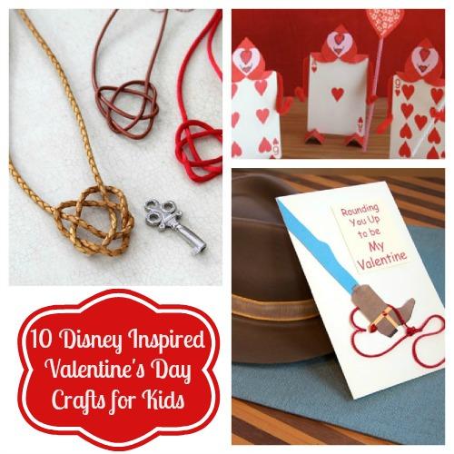 10 Disney Inspiriert Zum Valentinstag Basteln Fur Kinder