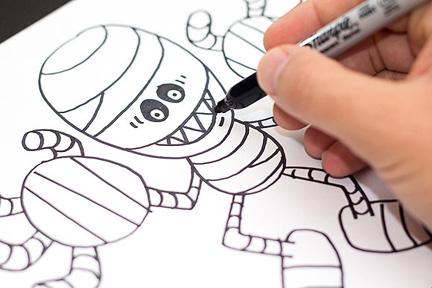 Wie 7 Ihrer Lieblings Halloween Figuren Zu Zeichnen