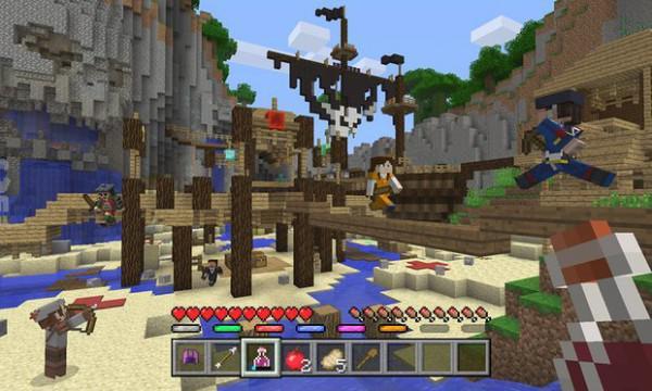 MinecraftMiniSpiele Xbox PlayStation Und Wii U Im Juni Kommen - Minecraft xbox spielen
