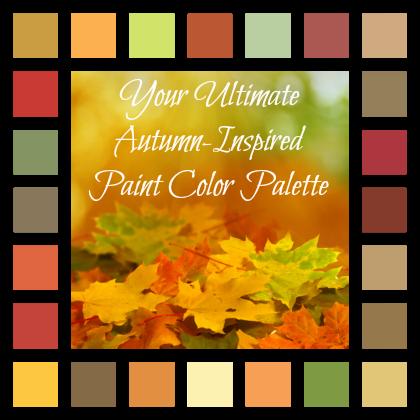 24 Herbst Inspirierten Farben Zu Herbst