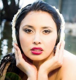 Frauenpersönlichkeit kolumbianische