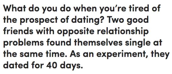 5 Regeln für die Datierung nach 40