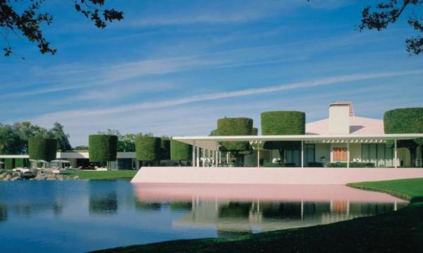 Februar Wurde Das George Sturges Haus In Brentwood, Kalifornien, Auf Den  Block Am Los Angeles Moderne Auktionen (LAMA) Gelegt. Es Ist Das Einzige  Beispiel ...