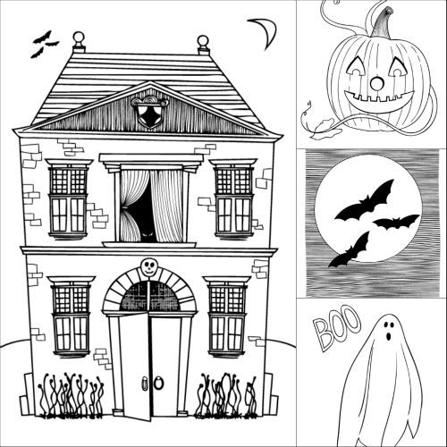 Fantastisch Halloween Färbung Ausdrucke Zeitgenössisch - Beispiel ...