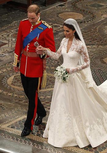 Kate Middleton Hochzeitskleid - werden kleine Mädchen überall ...