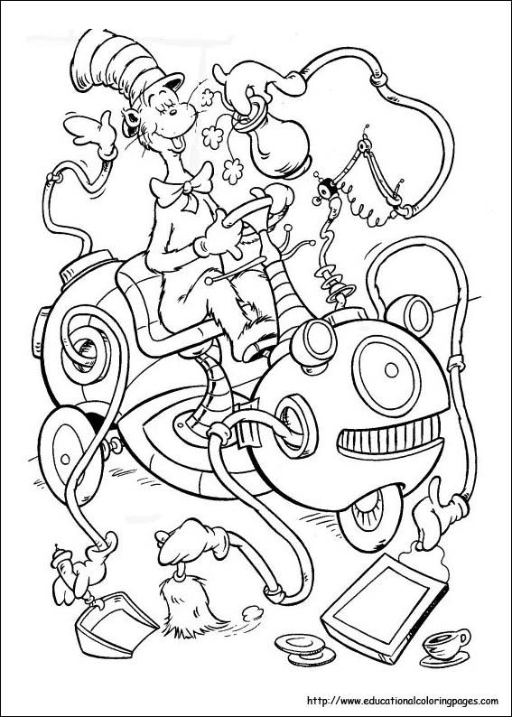 Dr. Seuss Malvorlagen: Feiern Sie Dr. Seuss Phantasie mit Ihren Kindern
