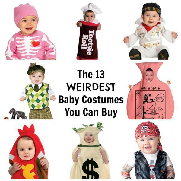 Die 13 verrücktesten Baby Kostüme kaufen Sie dieses Halloween