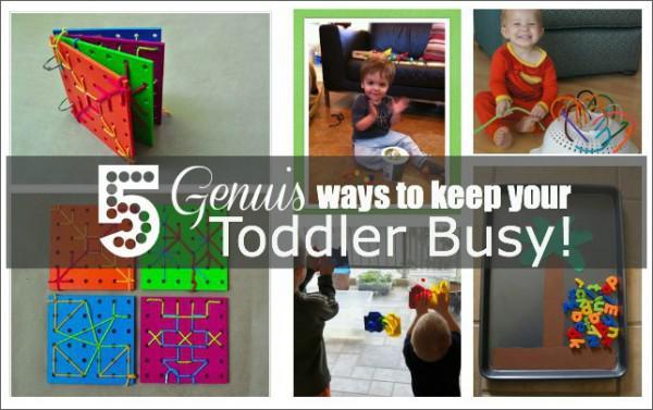 5 Genie Wege Um Kleinkinder Beschaftigen