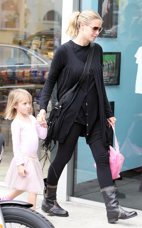 Heidi Klum Und Tochter Leni Tanz Duo