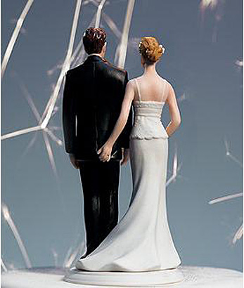 25 Lustige Hochzeitstorte Topper