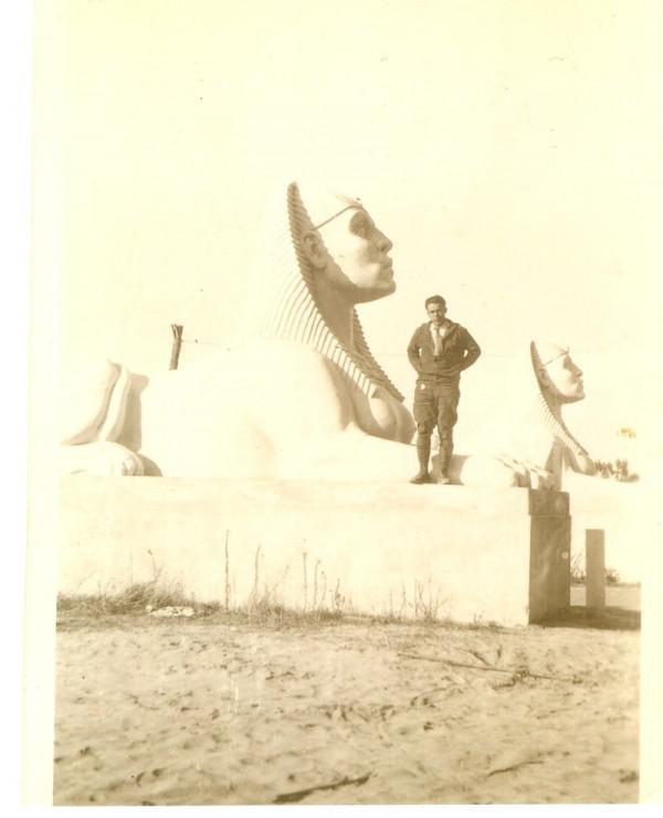 Fotos Aufdeckung Sphinxe Von 1923 Die Zehn Gebote