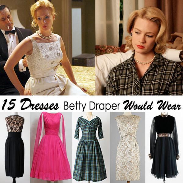 15 perfekt Betty Draper Kleider für Halloween