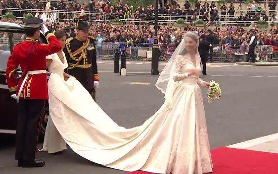 Konigliche Hochzeit Abdeckung Kate Middleton Hochzeitskleid