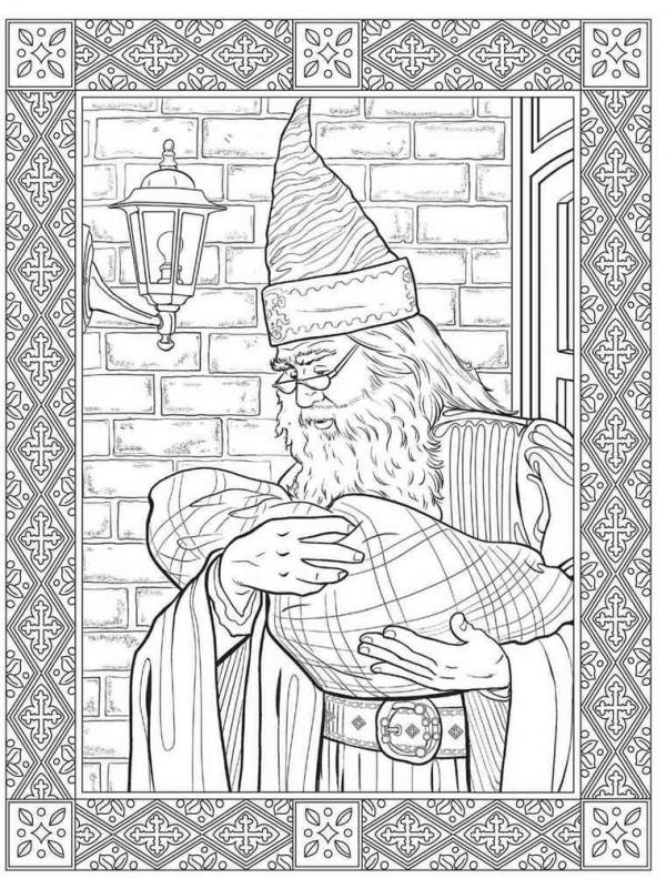 Harry Potter fällt Bann Malbücher