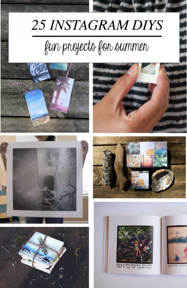 25 lustige Instagram-Projekte für den Sommer!