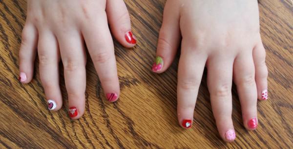 fingern tipps