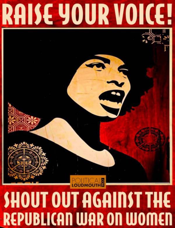 Vintage-inspirierten Plakate Kampf gegen Krieg auf reproduktive Rechte