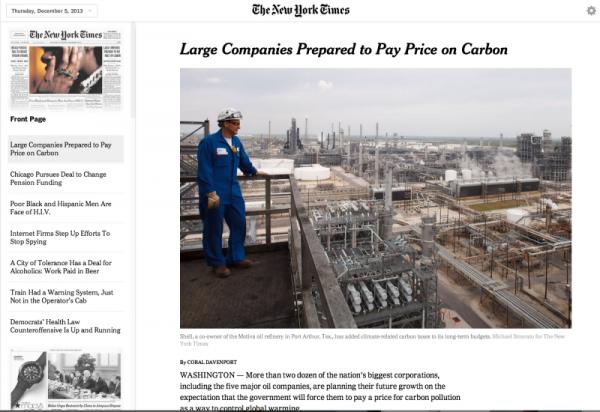 Die Zeitung Von Heute Ist Der New York Times Online Organisierte