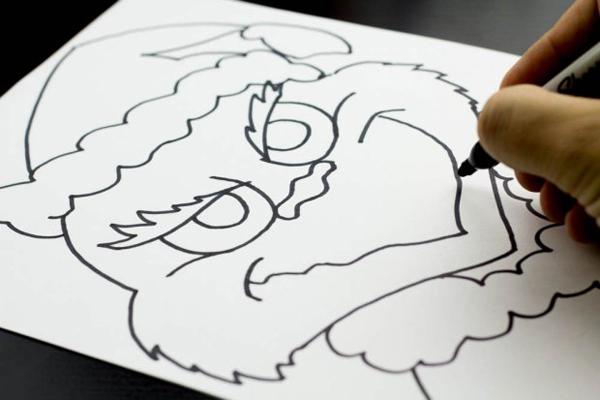 herz einfach zeichnen