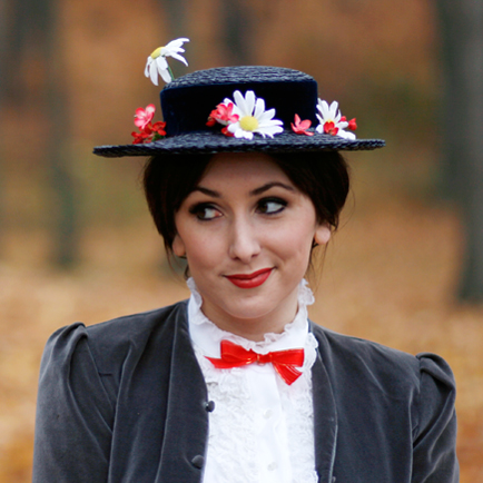 Erstellen Sie Ihr Eigenes Mary Poppins Kostum