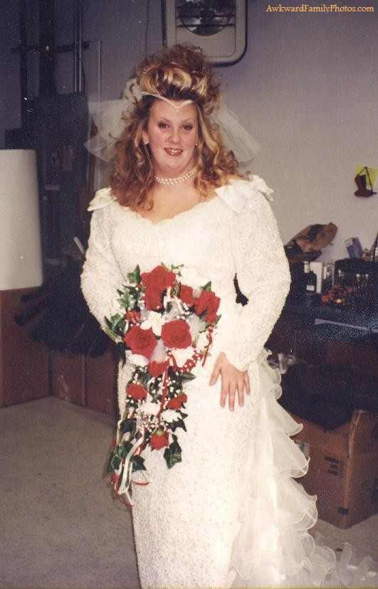 9 der schrägste und hässlichste Brautkleider