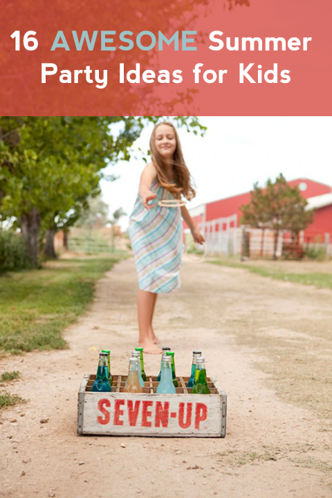 16 Tolle Sommer Party Ideen Fur Kids