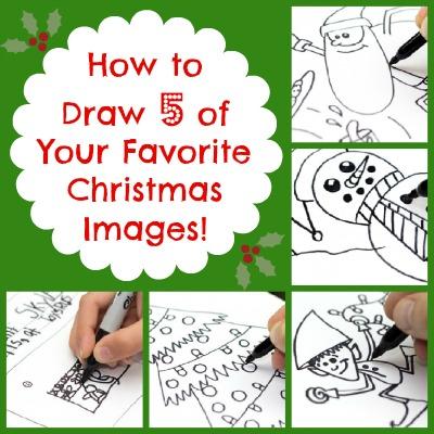 How to Draw 5 deiner Lieblings-Weihnachts-Bilder!