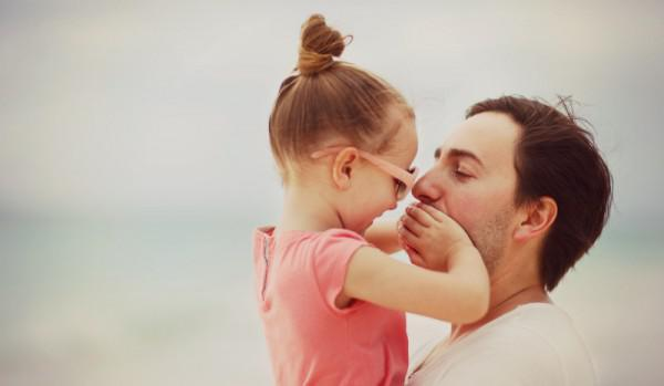 Wenn Es Darum Geht Spielen Bösen Bulle Mit Unserer Tochter Mein