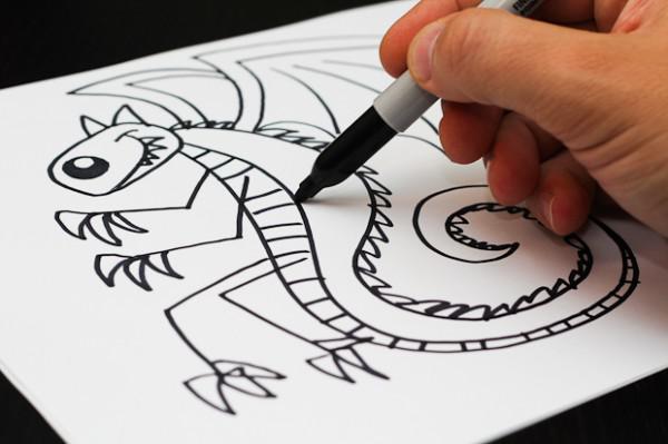 gewusst wie 25 tolle karikaturen mit ihren kindern zu zeichnen. Black Bedroom Furniture Sets. Home Design Ideas