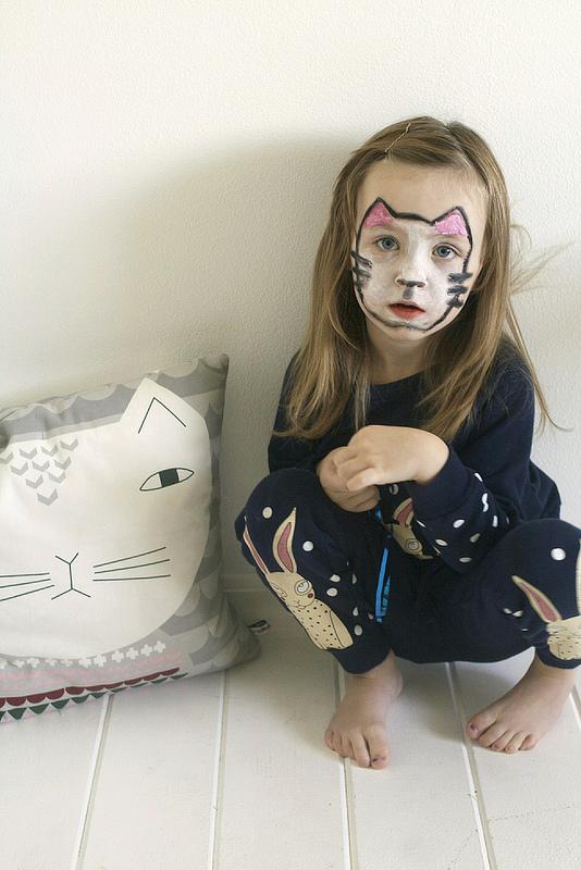 Tutorial Süße Katze Schminken Für Halloween