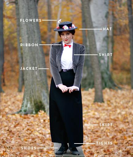 Erstellen Sie Ihr Eigenes Mary Poppins Kostüm