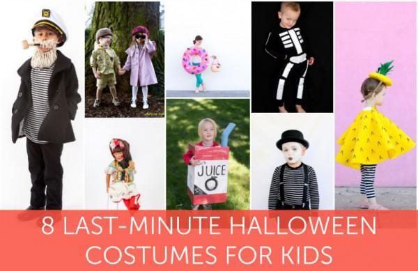 8 Entzuckende Last Minute Halloween Kostume Fur Kinder